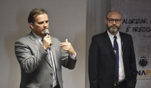 Boudens, presidente da Fenapef, participou da AGE desta quarta-feira (21). Foto: Sérgio Vinícius/Agência FenaPRF
